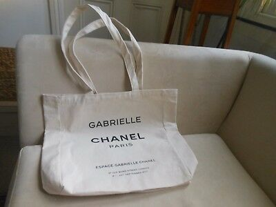 Rare collectable Chanel cloth bag given to the Press promoting Gabrielle perfume