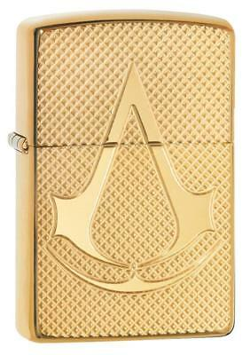 Magnifique Zippo Assassins Creed  Armor Case Neuf
