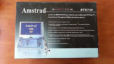 Amstrad DTX730 Portable DVD with TV