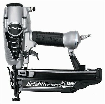 Hitachi NT65M2S 16-Gauge Finish Nailer with Integrated Air Duster 2-1/2-Inch