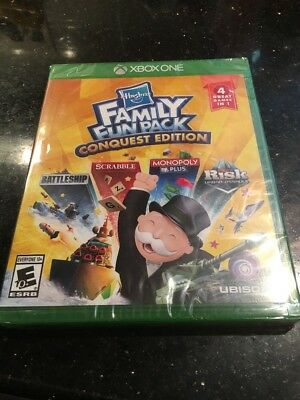 Hasbro Family Fun Pack Conquest Edition - Xbox One Brand New Factory Sealed