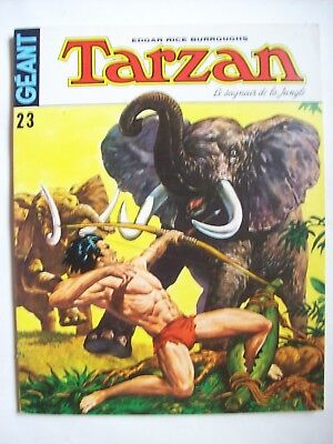 Tarzan géant n° 23 1975 TBE  Sagédition