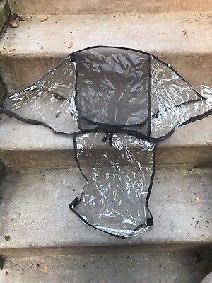 UPPAbaby Vista Rain Shield Cover for Toddler Seat for 2014 -earlier EUC