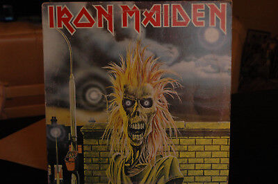 LP Iron maiden  Omonimo 1980