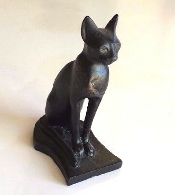 Bastet Egyptian Cat statue sculpture Museum Replica Reproduction (MMA)