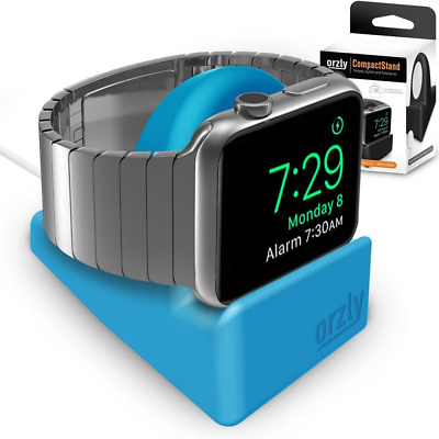 Orzly® Night-Stand pour Apple Watch BLEU - Station de Charge mode Nightstand - S