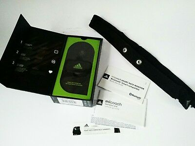 adidas miCoach HRM2 Heart Rate Monitor Bluetooth Runtastic Android Iphone