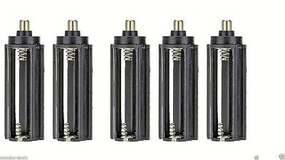 18650 Battery Adapter x 5  takes 3 x AAA UK SELLER