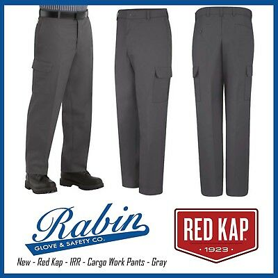 Cargo Work Pants - Red Kap - Gray - New - IRR ALL SIZES