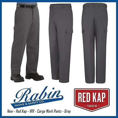 New -  Red Kap - IRR - Cargo Work Pants - Gray