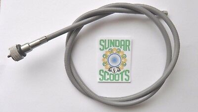 Speedo Cable Grey. Suitable  For Lml And Px Vespa Scooters .