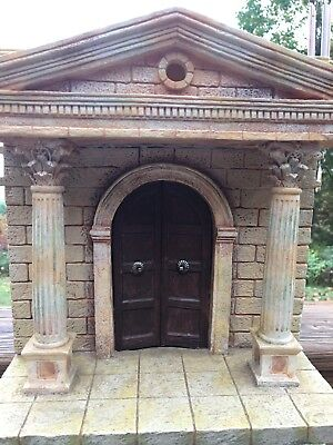 """Fontanini By Roman Inc. The Temple Heirloom Nativity 5"""" Inch Building"""