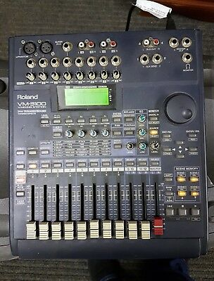 roland vm3100 digital live studio professional mixing desk