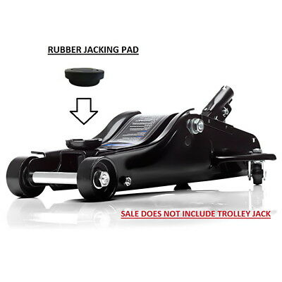 SGS 2 Ton Low Profile Trolley Jack RUBBER PAD Protect your chassis underseal etc