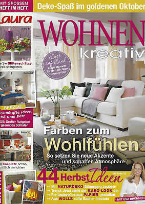 laura wohnen kreativ 10 2015 eur 2 00 picclick de. Black Bedroom Furniture Sets. Home Design Ideas