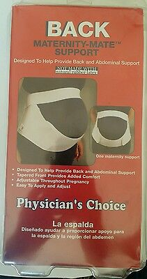 Physician's Choice Maternity-mate Support Band Size Medium.
