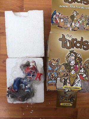 Boxed The Turds Decorative Oranaments - Special Detailed Figurine - Skidder Man