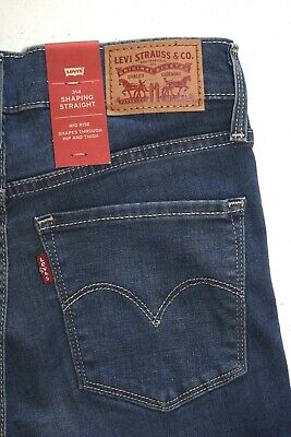 Levi's  314 Women's SHAPING Straight  Jeans