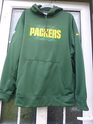 New Packers Nike  NFL Therma - Fit Training Hoodie Size XL