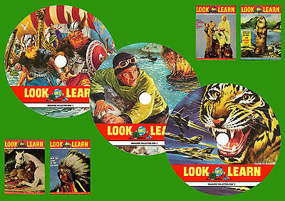 Look & Learn Magazine Collections 1 to 3 On 3 DVD ROMS