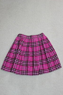 girls plaid skirt size xs (equivalent to size 6)