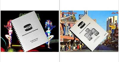 2 IGT S - PLUS S+ Slot Machine Service & Troubleshooting Guide + Owners Manual