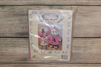 "Pinky Shears Beautician Outfit Treasured Toggery For 12"" Bears & Plush Dolls NEW"