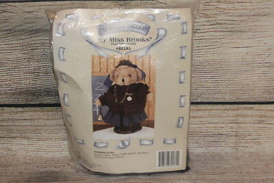 "My Miss Brooks Teacher Outfit Treasured Toggery For 12"" Bears & Plush Dolls NEW"