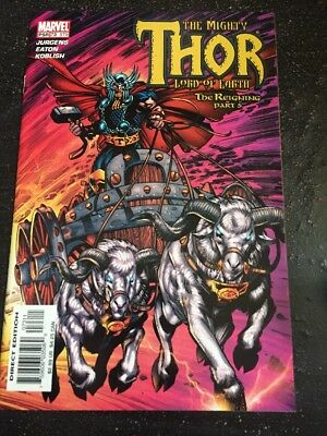 "Mighty Thor#575 Incredible Condition 9.4(2004)""The Reigning"" Eaton Art!!"