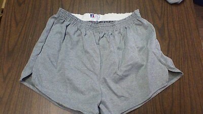 vinatge 70s russell athletic poly/cotton/RAYON OXFORD gym shorts made in USA