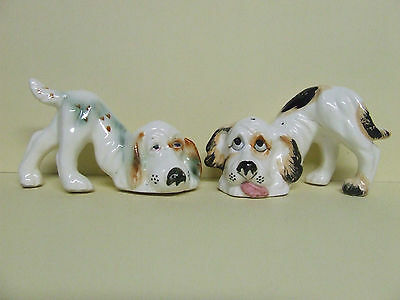 Vintage Hound Dogs Salt & Pepper Shakers (Japan)