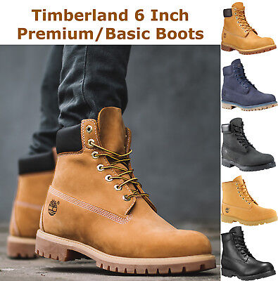 TIMBERLAND MENS 6 Inch Premium Waterproof Boots Insulated