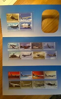 Singapore Stamps - 2003 - Military Aircraft - Full Set Of 20 - Mnh - In Presenta
