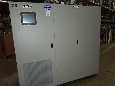 Liebert STA1000A12 1000A 3ph 3W or 4W 480V Static Transfer Switch Used