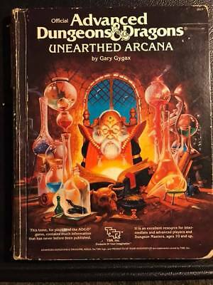 Advanced Dungeons & Dragons Unearthed Arcana - 1985 - AD&D