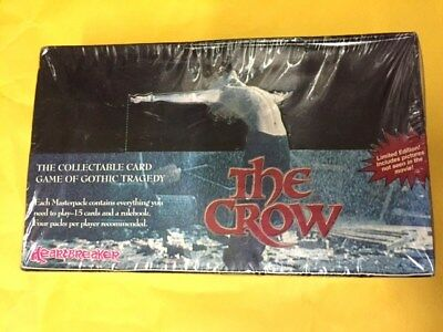 The Crow CCG of Gothic Tragedy Booster Box Sealed English Rare!