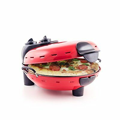 Pizza Maker - Authentic Italian Stonebake Pizza Oven with Viewing Window - Perfe