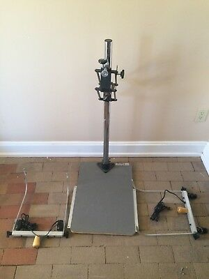 Testrite Instruments Copy Stand with Adjustable Lights