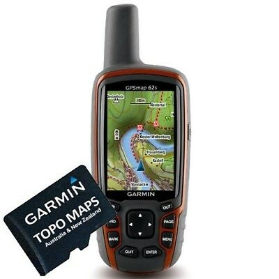 Garmin Topo Maps Australia & New Zealand V4 GPS, CAMPING, HIKING, ADVENTURE, 4X4