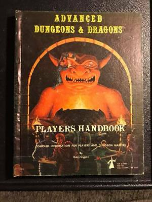 Advanced Dungeons & Dragons Players Handbook - January 1979 - AD&D