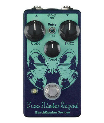 EarthQuaker Devices Fuzz Master General Pédale d'Effets (NEUF)