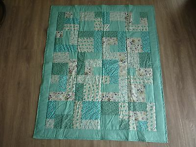 New Handmade Baby/ Toddler Quilt (Blanket)  - Patchwork