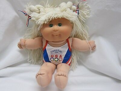 First Edition 1996 USA Olympic Cabbage Patch Kid, Mattel