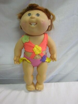 1991 Bathing Beauty, Bendable PVC Cabbage Patch Kid, Hasbro