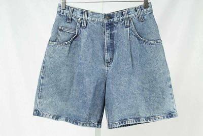 Levi's Size 9 Juniors Vintage Denim High Waist Pleated Front Shorts 184 ST517