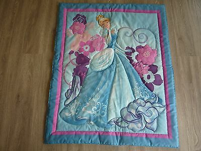 New Handmade Baby/Child Quilt (Blanket)  - Cinderella
