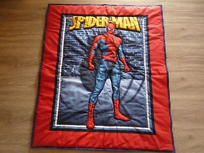 New Handmade Baby/Toddler  Quilt (Blanket)  - Spiderman