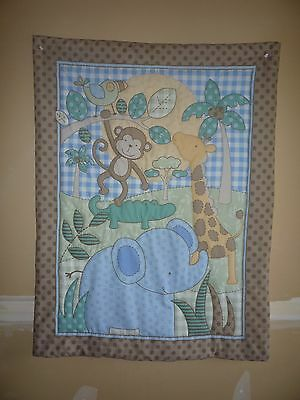 New Handmade Baby Quilt (Blanket)  - Safari