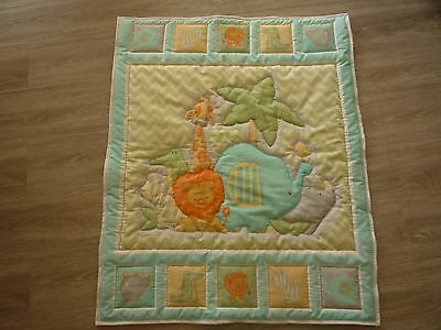 New Handmade Baby Quilt (Blanket)  - Sweet Safari