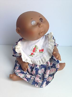 Mattel 1995 CABBAGE PATCH KIDS First Edition Bath Baby, African American Black